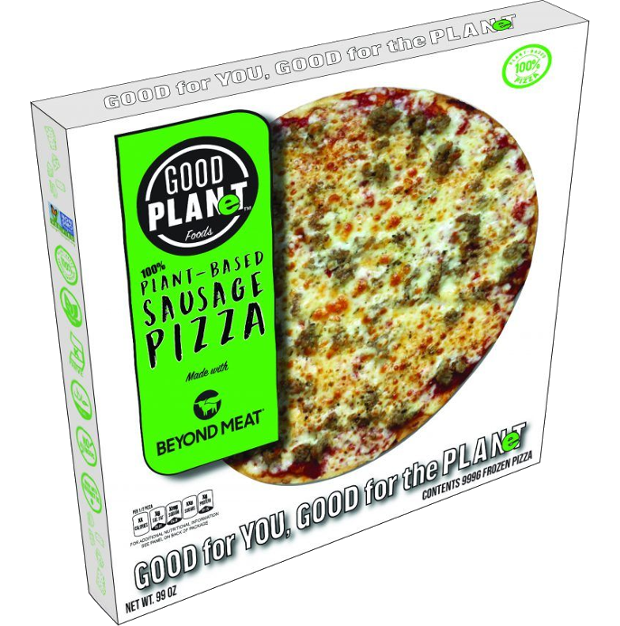 Plant-based pizza